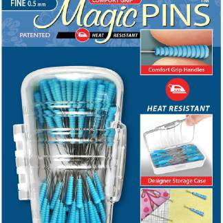 Comfort Grip Fine Quilting Magic Pins