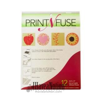 Print n Fuse Inkjet Printable Fusible