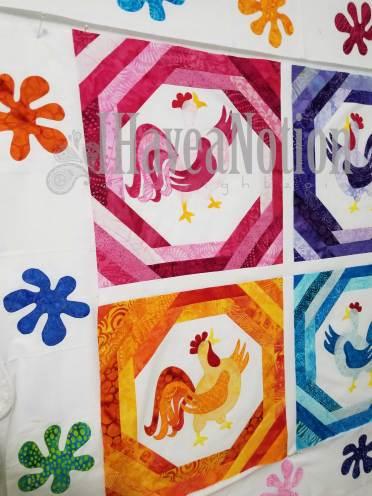 sample Chicken Dance blocks