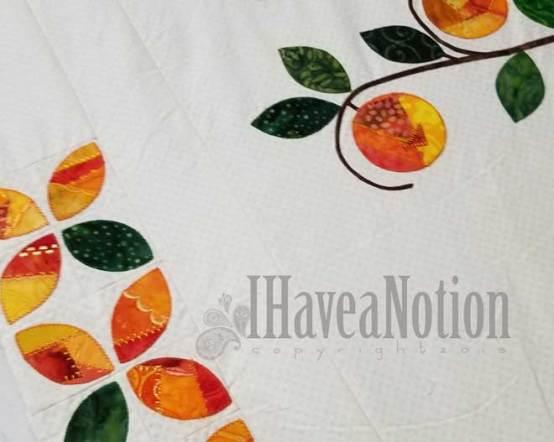 Sneak Peek of the orange tree