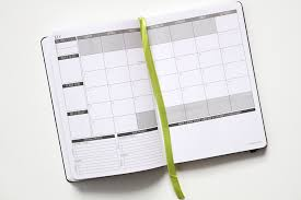 photo of a planner