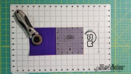 The Non-Slip aspect of the Quilters Select Ruler