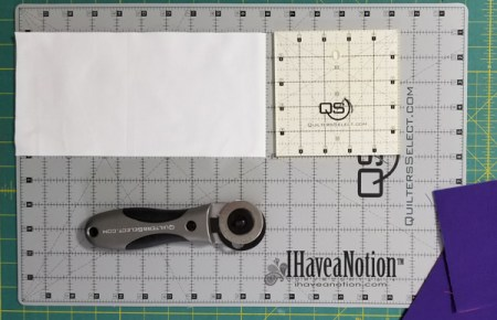Quilters Select Products,Ruler for Sub-Cutting WOF, Rotary Cutter and Cutting Mat