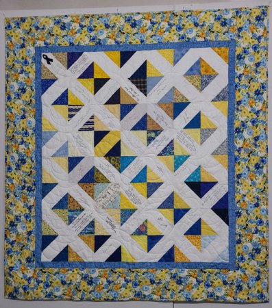 Friendship Quilt with a Spring look