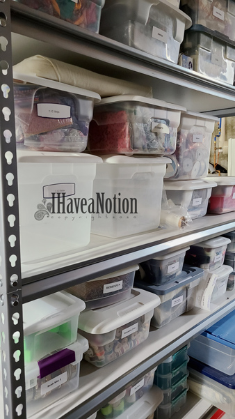 clear plastic storage tubs