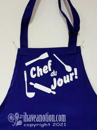 Cricut enhanced apron