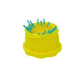 Large Yellow Magnetic Pin Cup