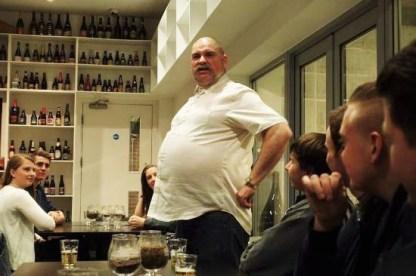 Big Al giving a tour