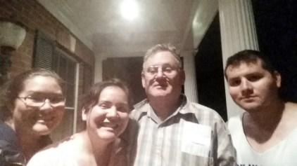 Dad & his progeny