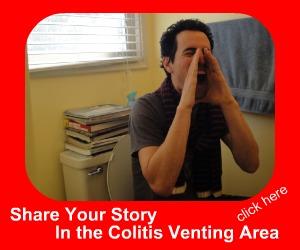 venting ulcerative colitis