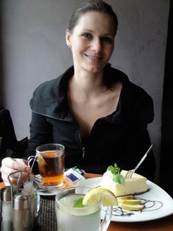 ginger tea dessert