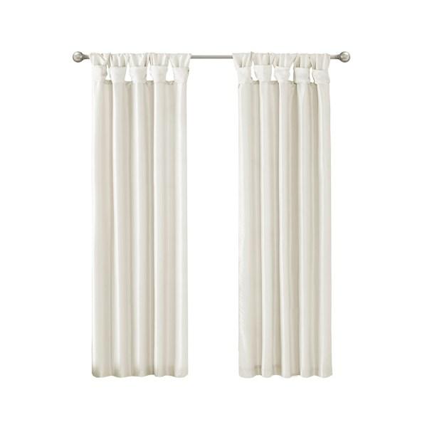emilia twist tab window curtain collection