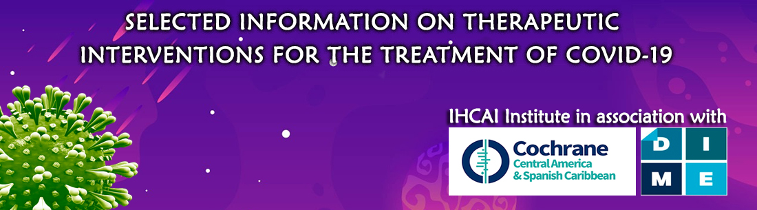 IHCAI's work with Cochrane Central America for COVID-19