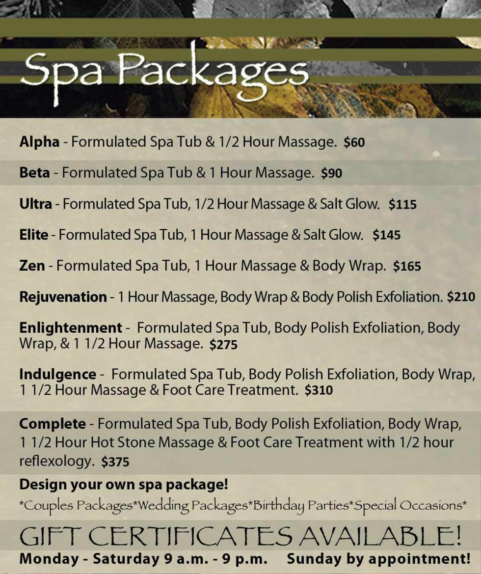 Body Massage Packages