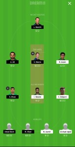 KAR vs ISL Dream11 team prediction