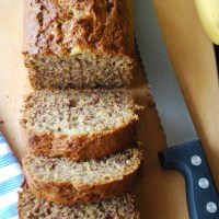 Super Easy Whole Wheat Banana Bread