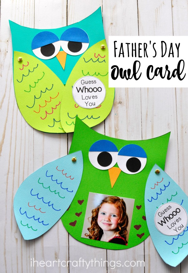 Guess Whooo Loves You Father's Day Kids Craft