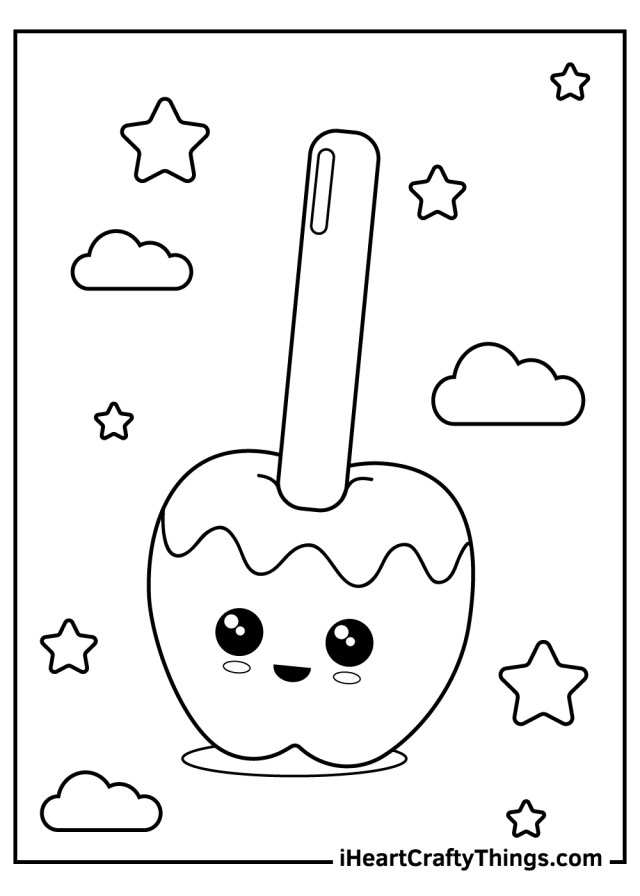 Printable Candy Coloring Pages (Updated 14)