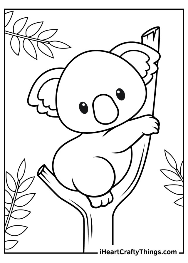 Printable Baby Animals Coloring Pages (Updated 5)