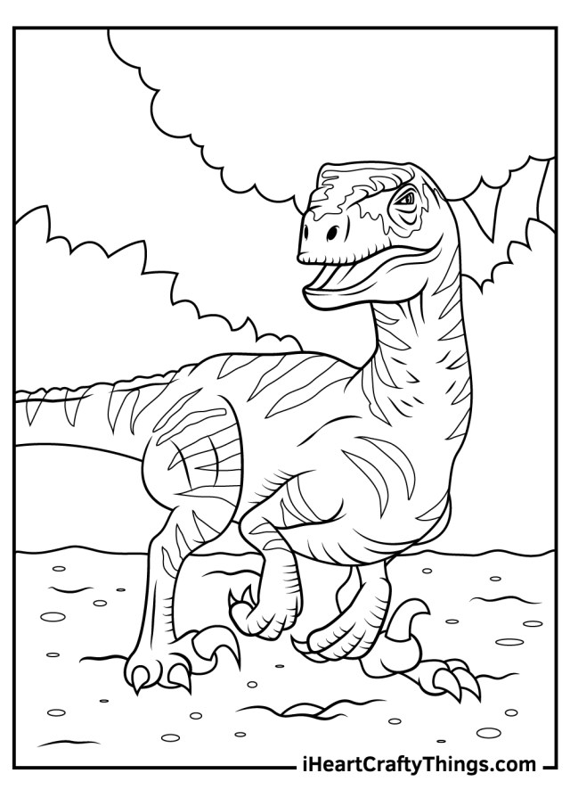 Printable Jurassic Park Coloring Pages (Updated 18)