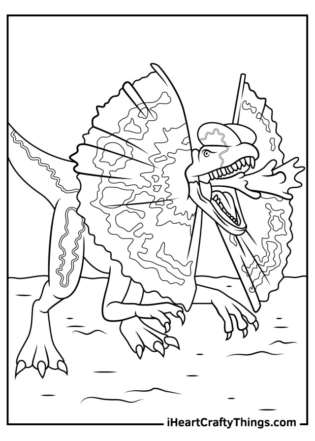 Printable Jurassic Park Coloring Pages (Updated 15)
