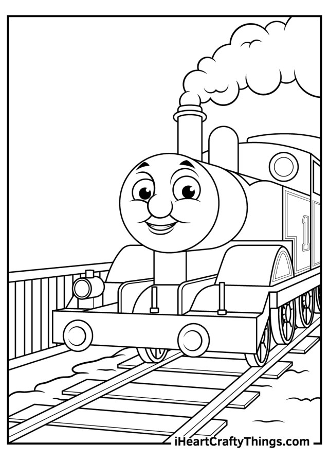 Printable Thomas The Train Coloring Pages (Updated 11)
