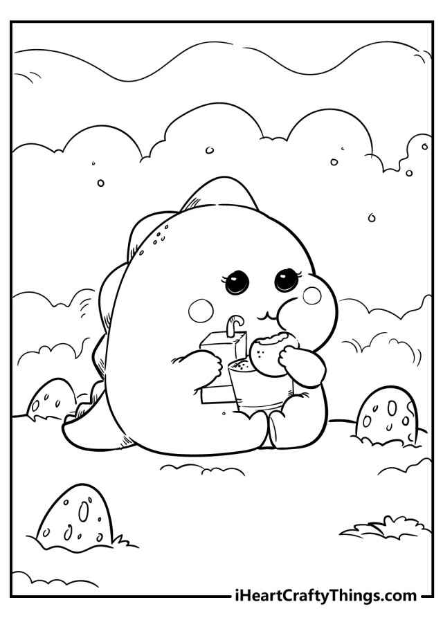 Kawaii Coloring Pages (Updated 29)