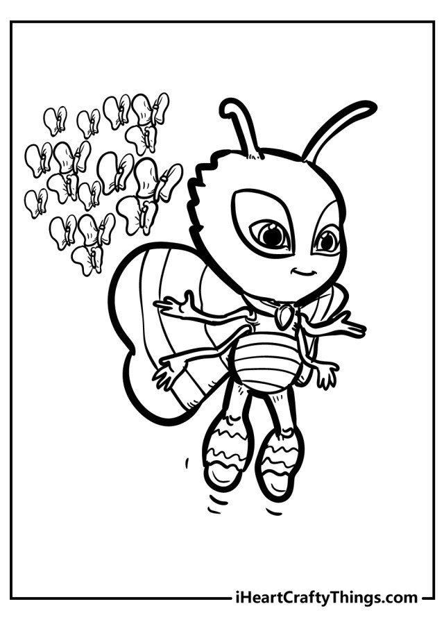 PJ Masks Coloring Pages (Updated 29)