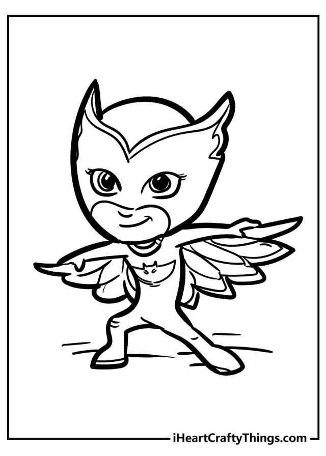 PJ Masks Coloring Pages (Updated 14)