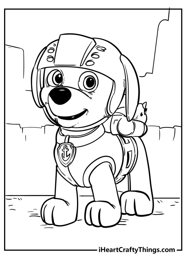 Paw Patrol Coloring Pages (Updated 25)