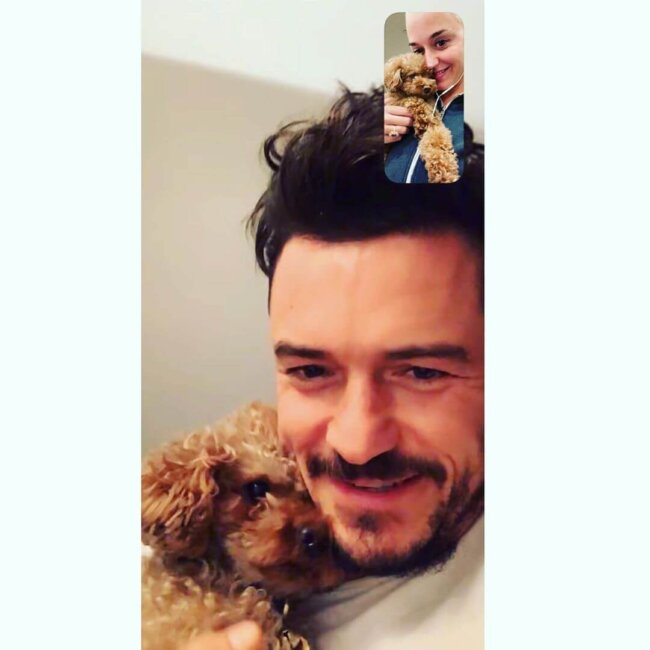 Katy Perry Orlando Bloom Video Chat
