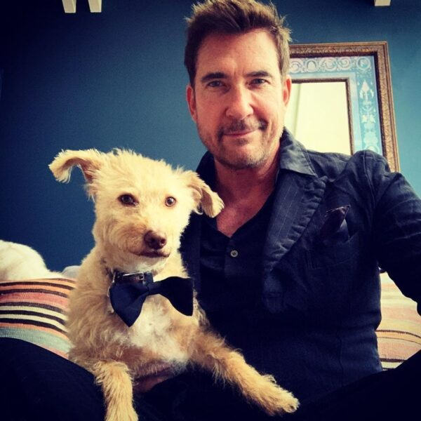 Dylan Mcdermott and Otis