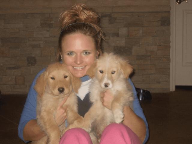 Miranda Lambert puppies