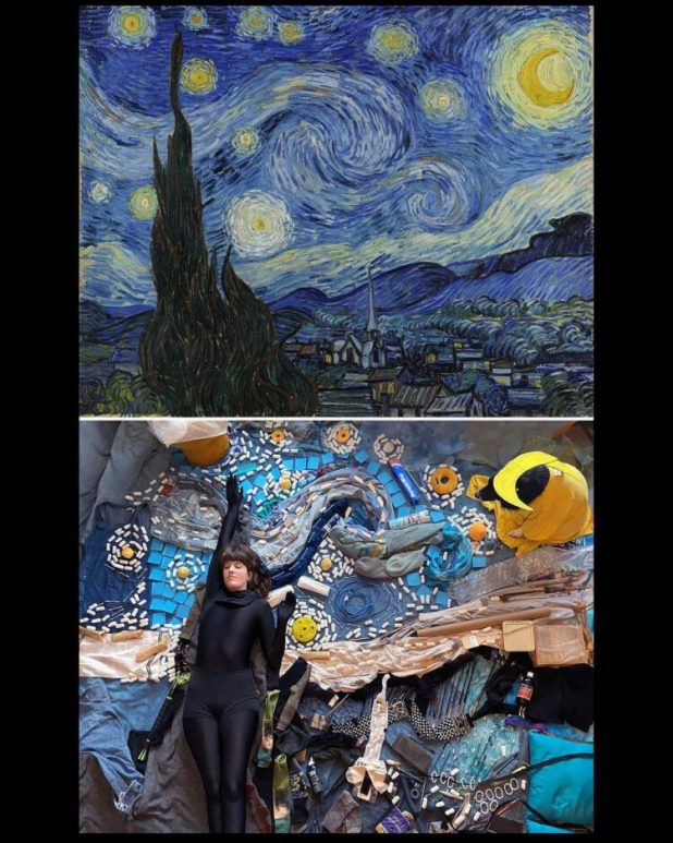 Starry Night recreated