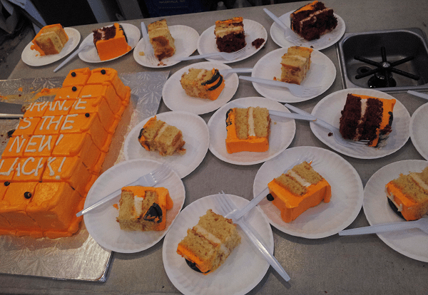 Cake by Cake & Loaf at Cafe Oranje