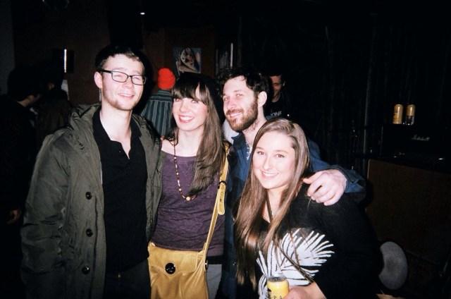L-R: Spence Newell, Kristin Archer, Grant Winestock, Steph Dubik