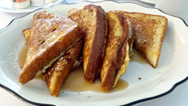 French Toast at Auntie Boom's Retro Cafe