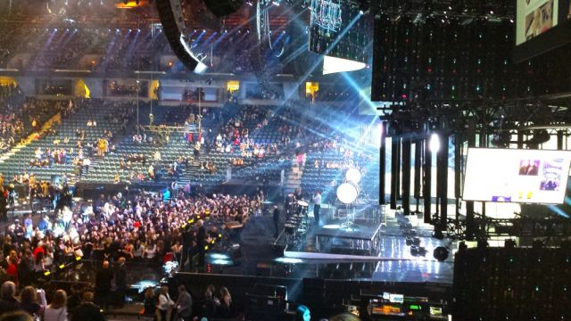 FirstOntario Centre before the live JUNO Awards broadcast began