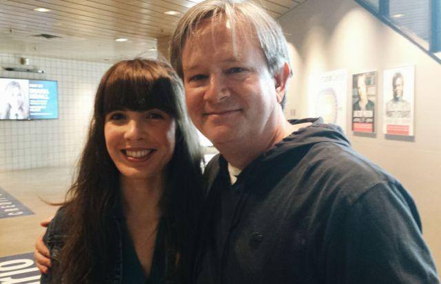 With Mark McKinney