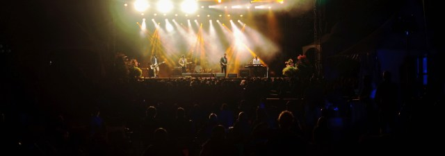 Arkells performing at Harvest Picnic 2015