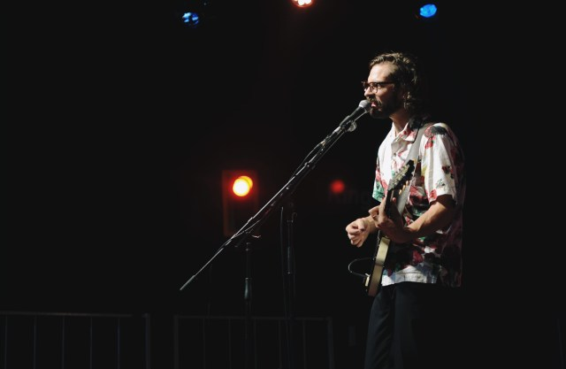 Young Rival performing at West Fest