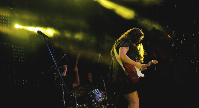 Terra Lightfoot performing at Supercrawl