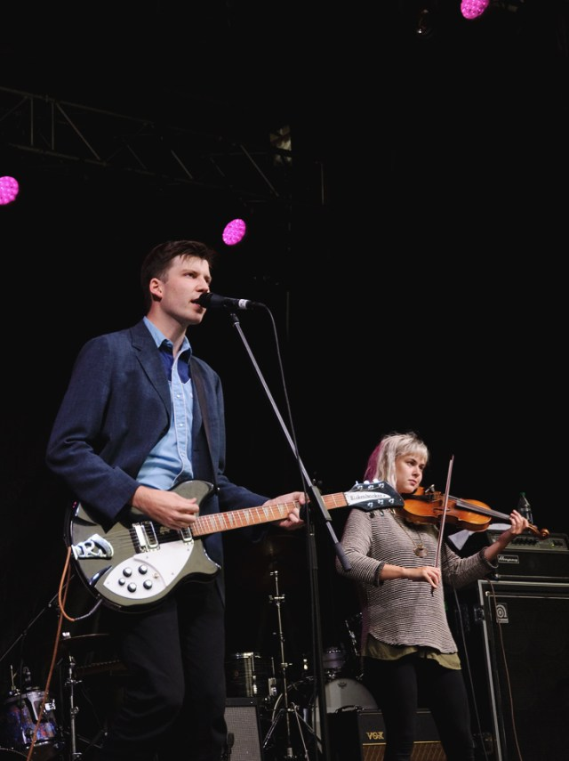 Rah Rah performing at Supercrawl 2015
