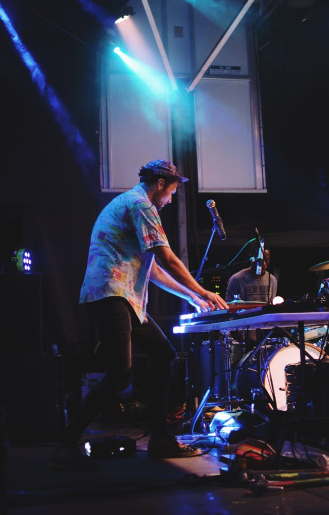 Rich Aucoin performing at Supercrawl 2015