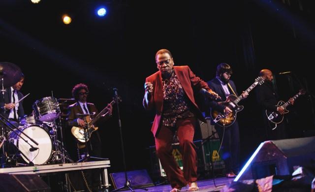 Sharon Jones and the Dap Kings performing at Supercrawl 2015