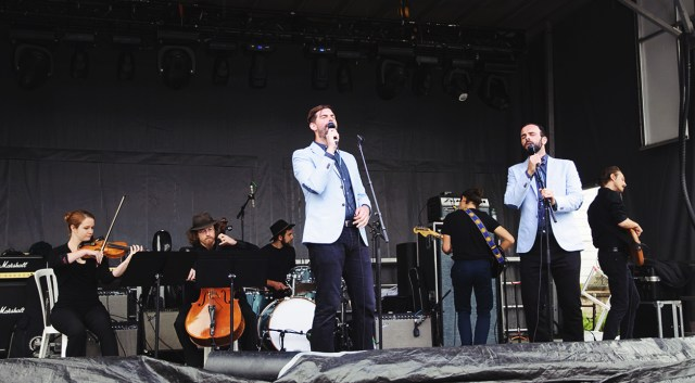 Twin Within performing at Supercrawl 2015