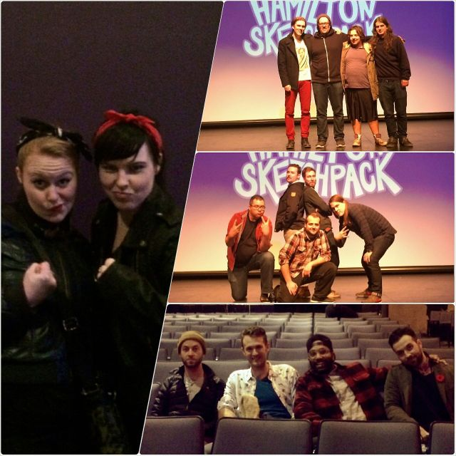 Left: Awkward Rebels. Top to bottom: Happy Camper, Safety Zoo, The Jimi Boys