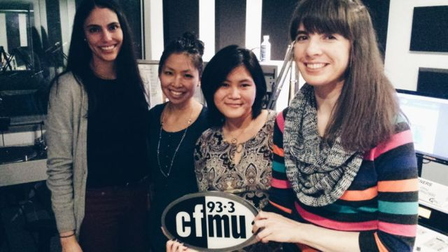 Ashlee Leggett, Yulena Wan, Alyssa Lai, Kristin Archer