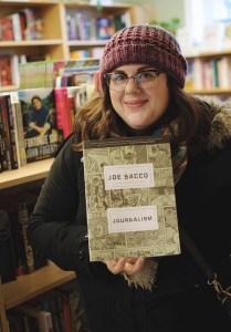 Trish Gallant at Epic Books. Photo by Lisa Vuyk
