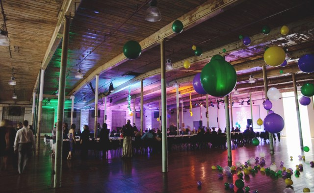 The Cotton Factory during Pop Up Hamilton's Mardi Gras event. Photo by Lisa Vuyk